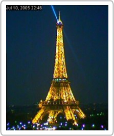 High  Picture Eiffel Tower on Eiffel Tower At Night Wallpaper